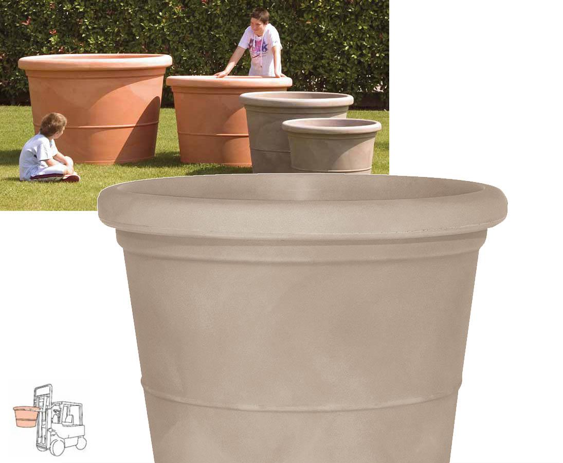xxl bertopf mit 120cm sanfarbig bei uns online bestellen. Black Bedroom Furniture Sets. Home Design Ideas