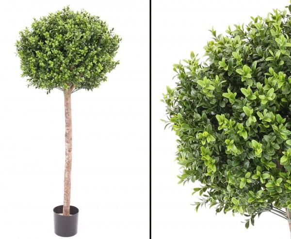 Buchskugel Kunstbaum 120cm mit Kugelform Durchmesser ca. 40cm