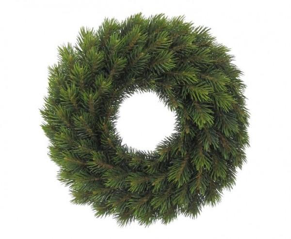 Weihnachtskranz mit PE Tannenzweigen Durchmesser 42cm