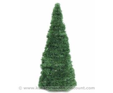 Künstlicher Weihnachtsbaum kegelförmig, Höhe 180cm
