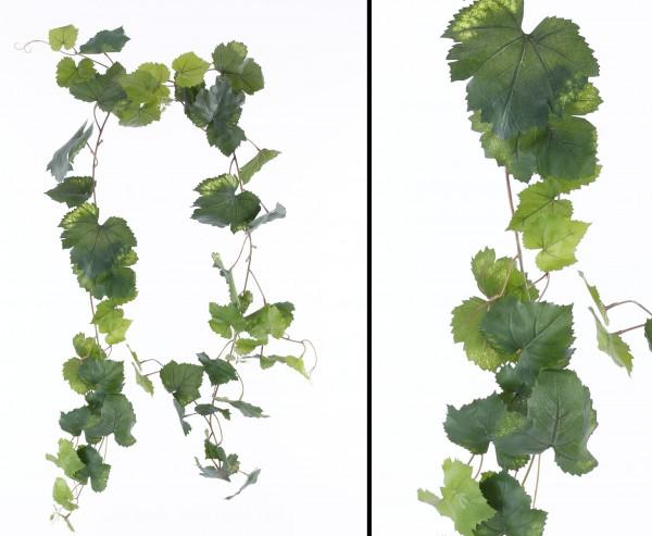 Traubenblatt Girlande mit 54 Blätter Länge ca. 186cm