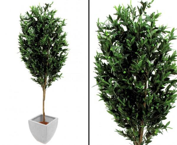 Künstlicher Olivenbaum mit 372 Oliven 250cm hoch