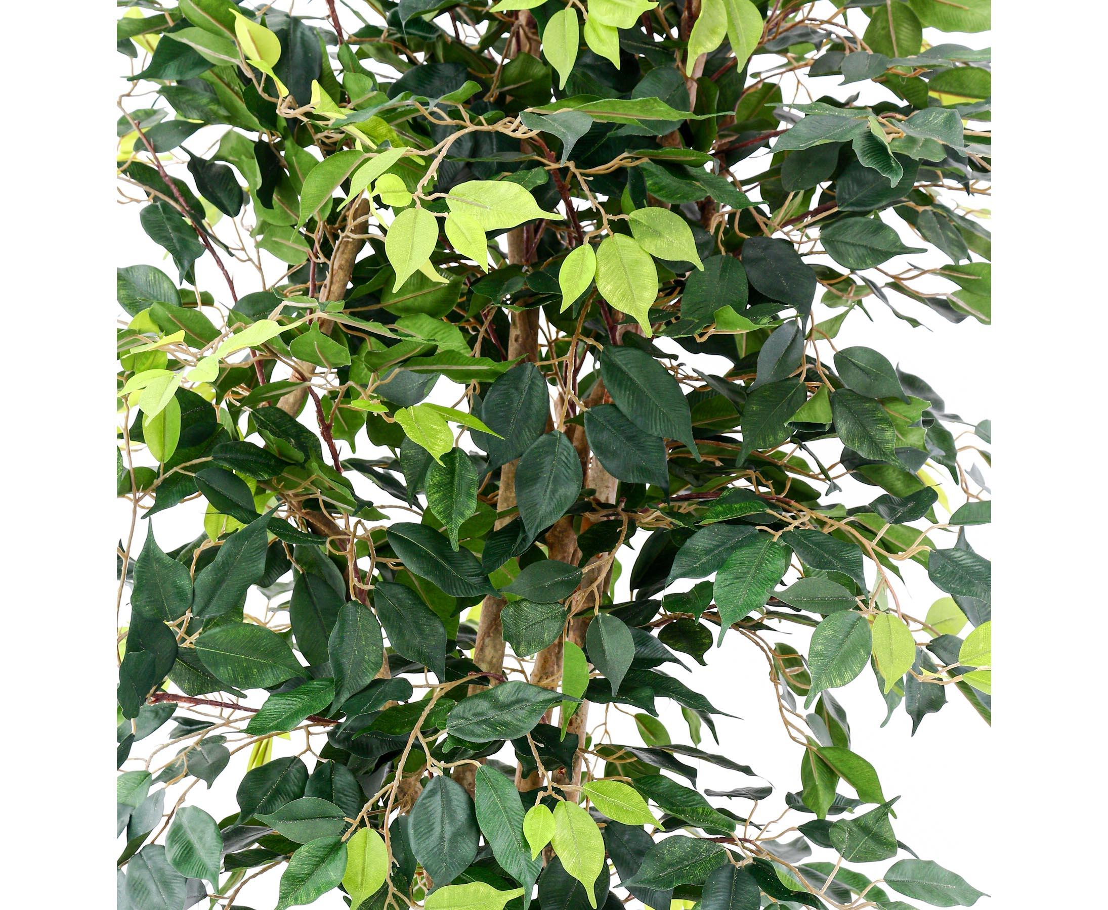 Kunstpflanze Dekobaum Kunstbaum Zitronenbaum 120 cm