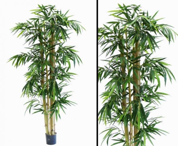 Künstliche Bambuspflanze mit 980 Blätter und ca. 240cm hoch