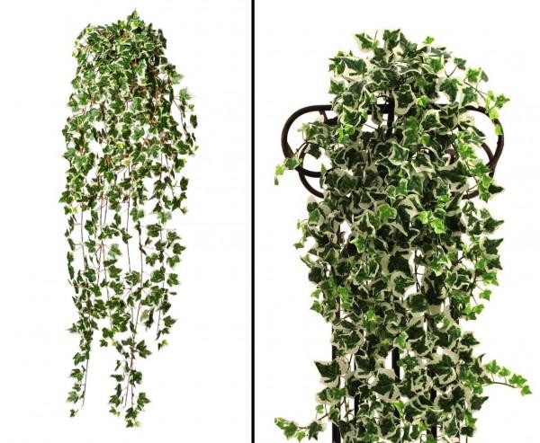 Efeuranke grün-weiß 618 Blätter, Länge 115cm