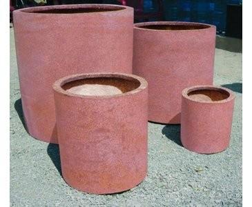 """Übertopf rund, """"Terracotta"""", Durchmesser 40cm, Höhe 40cm"""