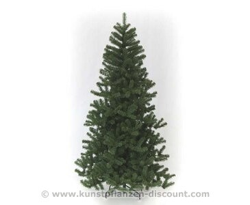 Künstlicher Tannenbaum Oslo grün Höhe 360cm Nadeln schwer entflammbar B1