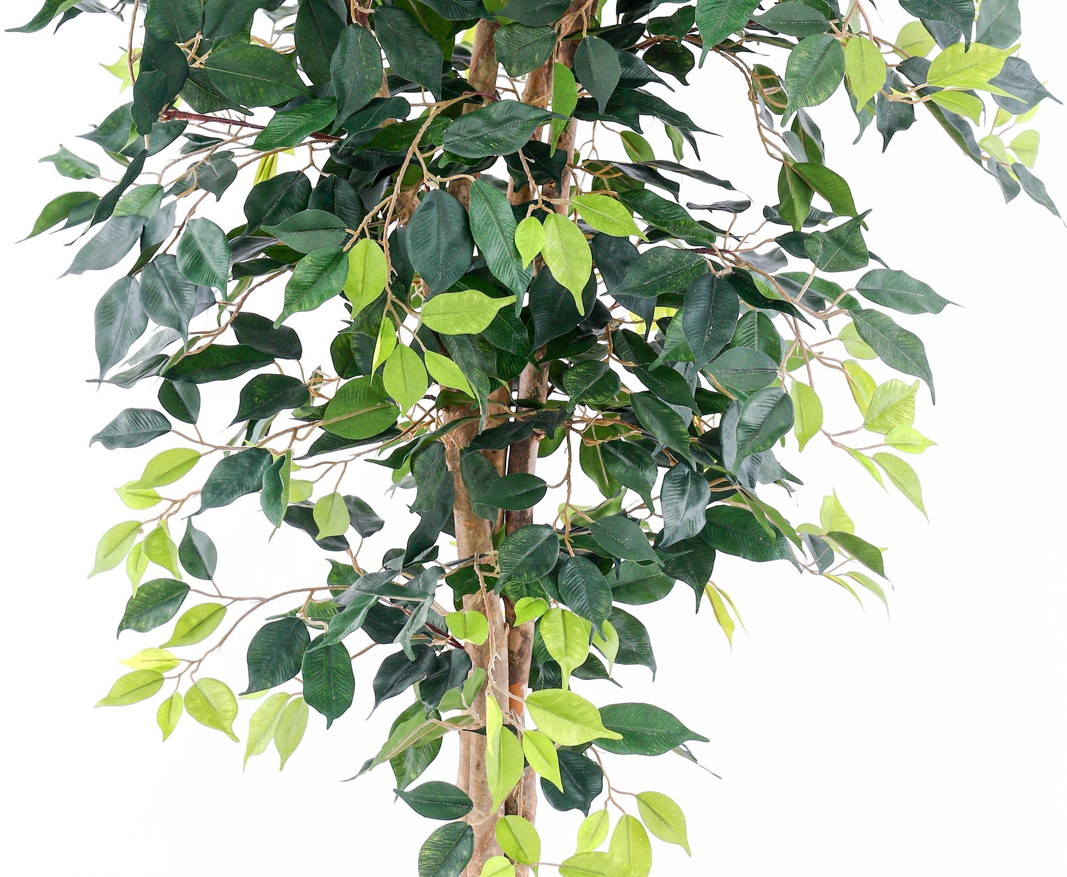 Kunstbaum Zitronenbaum Kunstpflanze 120 cm Dekobaum