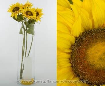 "Sonnenblumen Hesteck ""van Gogh"", Höhe 95cm"