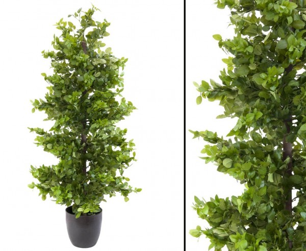Waldficus Kunstbaum mit 5700 grünen Blättern 120cm