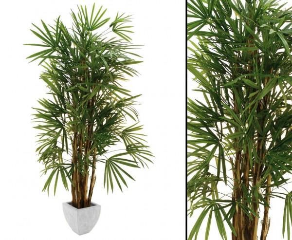 Steckenpalme künstliche Palme mit 1079 Blätter Höhe ca. 180cm