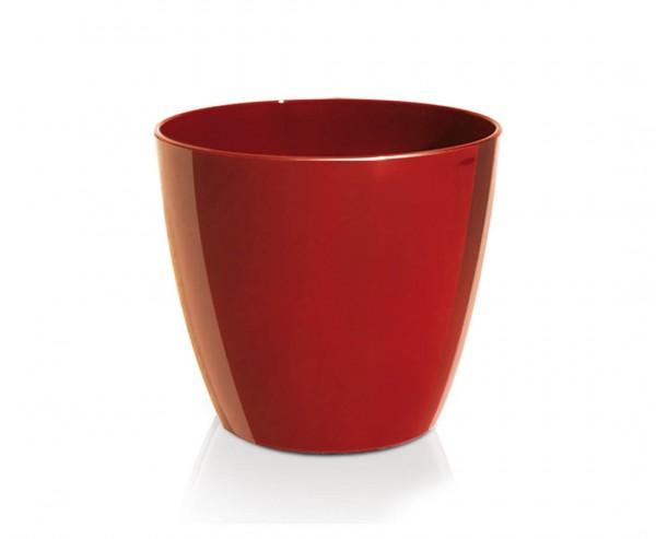 Preiswertes Pflanzgefäß rot mit 35cm, Höhe 31cm aus Kunststoff