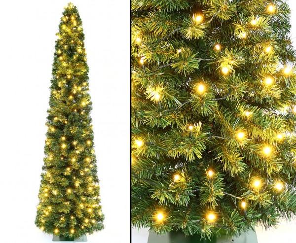 Künstlicher Weihnachtsbaum in Säulen Form Kasan 180cm 392 Zweigspitzen in B1
