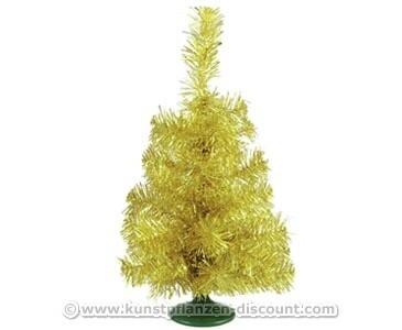 Deko Weihnachtsbaum gold, Höhe 45cm