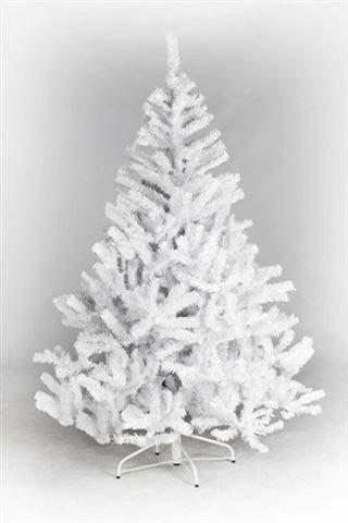 Künstlicher Weihnachtsbaum weiß Oslo Höhe 150cm mit 370 Tannennadeln