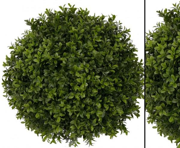 Kunstpflanzen Außenbereich, Buchsball mit Holz Kern, Durch. ca. 40cm