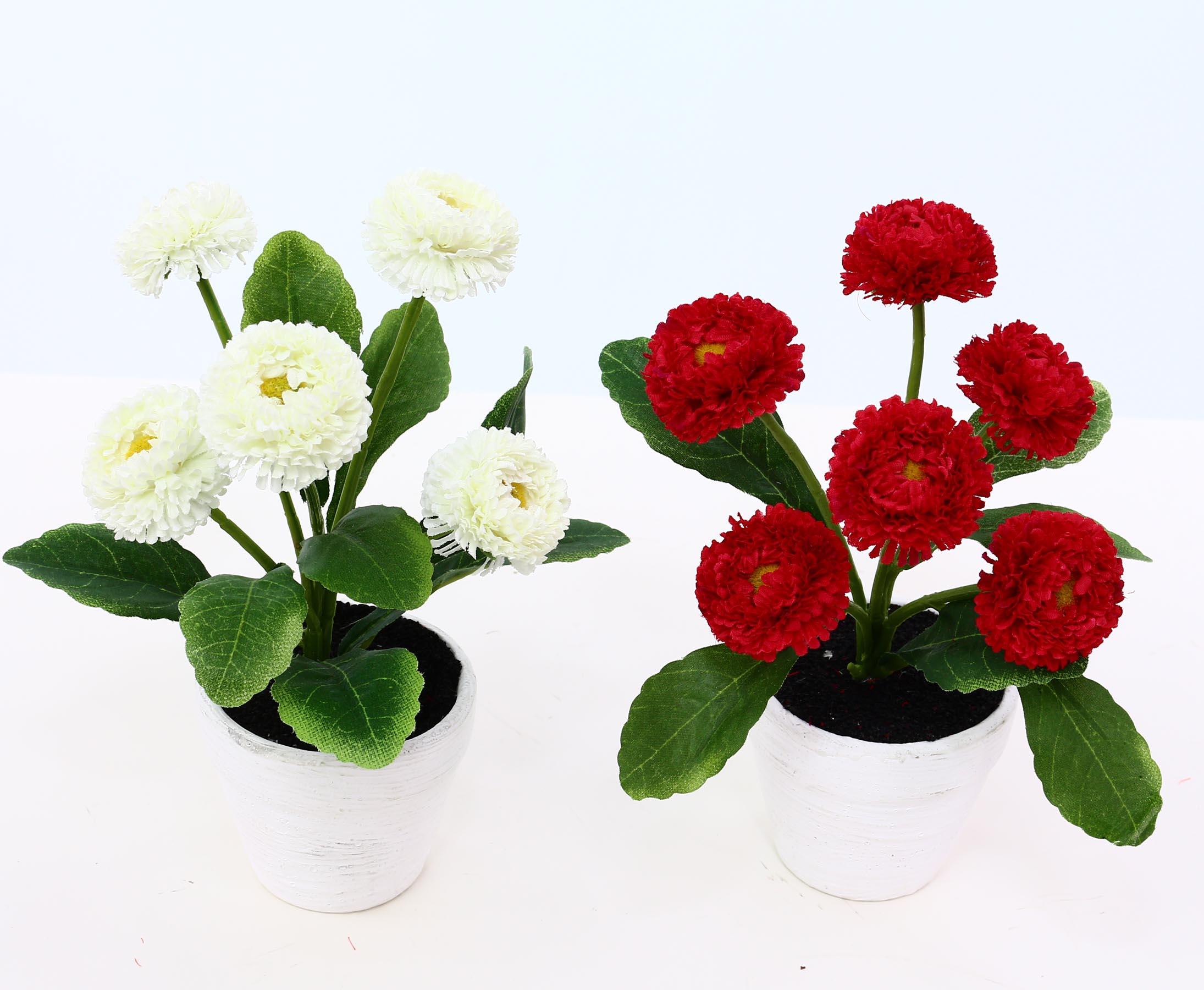 Künstliche Im Topf Deko Kunstblumen Kunstpflanzen Blumen Kunstblumen Dekoration