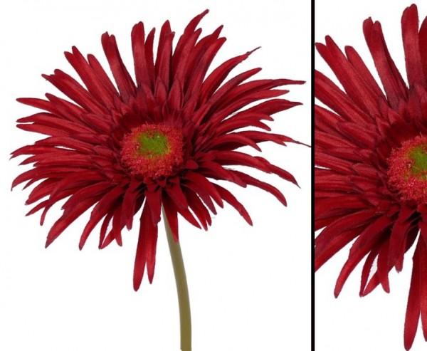 "Gerbera Kunstblume ""Sunshine"", Höhe 20 cm, rot"