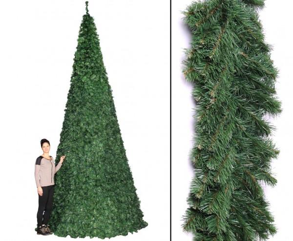Mega Weihnachtsbaum Oslo als Ringsystem mit Höhe 510cm